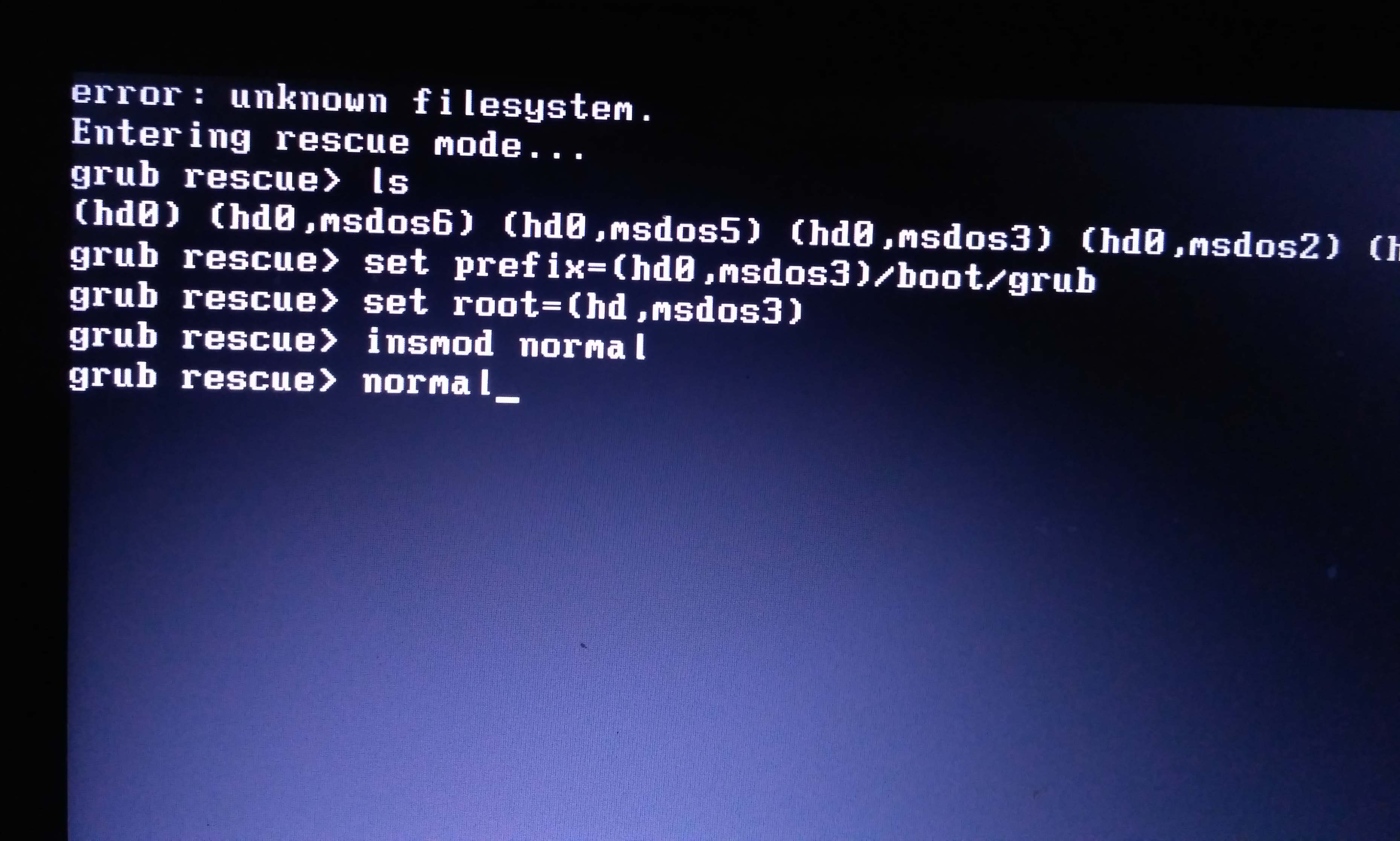Tutorial Cara Mengatasi Grub Rescue pada Linux Ubuntu